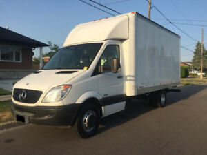 2010 Mercedes-Sprinter 3500 16 Fit Cube 152000KM 24500$OBO