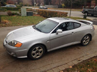 2003 Hyundai Tiburon SE w/Leather Coupe (2 door)