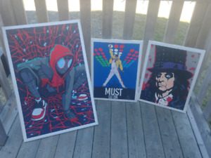 Acrylic Paintings done by me for sale