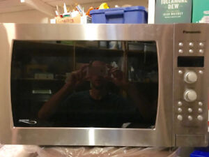 Great microwave/oven combo: CLEAN, stainless steel, LRG capacity