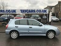 TAYCARS DUNDEE GENUINE SPRING SALE!! NISSAN ALMERA 1.5 FULL 1 YEARS MOT £1195
