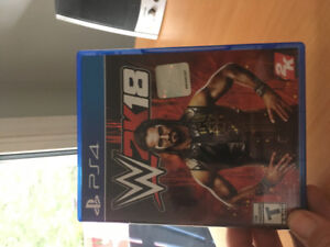 ps4 2018 wwe video game