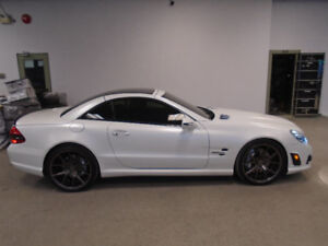 2009 MERCEDES SL63 IWC EDITION 1 OF 200! 89,000KMS ONLY $59,900!