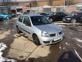 Renault Clio 1.5TD ( 68bhp ) Campus - 06/56 - 130K - March 19 Mot - £30 Tax