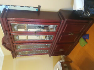 Dark Cherry coloured hutch need gone asap.