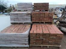 Recycled pavers, 25 sqm red clay .29sqm tan clay.. ON PALLETS North Plympton West Torrens Area Preview