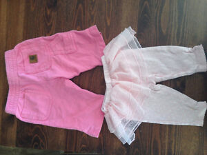 3-6m girl clothes, Carhartts