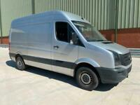VOLKSWAGEN CRAFTER MWB 2016 66 PLATE SILVER