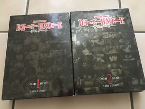Death note DVD sets