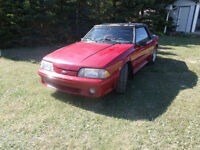 For Sale: 1988 Mustang GT Convertible