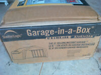 BOXING WEEK IN JULY! ShelterLogic Garage NEW IN BOX