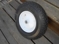 NEW run flat wheelbarrow tire