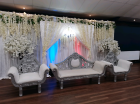 Wedding&mendhi stage hire 07846194010