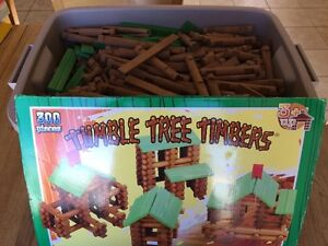 Tumble Tree Timbers Log House Building Logs 3 Sets
