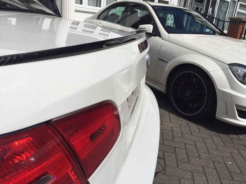 BMW E92 Coupe M3 Carbon Fibre Rear Spoiler 335i 325i 330d