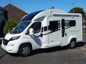 Bessacarr E424, 2017, 4 Berth, Electric Dropdown Bed, Fiat 2.3Tdi AUTOMATIC, VGC