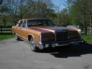 1978 lincoln towncar