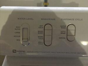 Maytag Washing Machine and GE Spacesaver 120v Dryer Edmonton Edmonton Area image 4