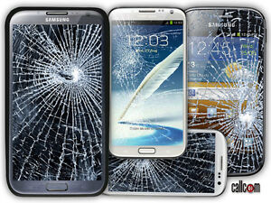 Samsung Galaxy Note 2 3 4 5 Mega Cracked Glass LCD Screen Repair