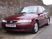 Vauxhall/Opel Vectra 1.8i 16v Club 2001(Y) 5 Door Hatchback