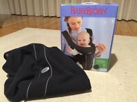 Baby Bjorn Baby Carrier and fleece cover