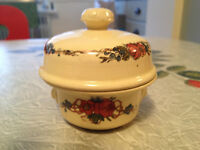 Old French Ceramic Pate Pot. French CountryFabulous Rare Design