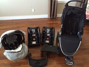 Britax Travel System with Accessories