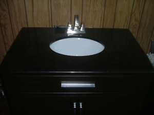 Brand new granite vanity just connect & use it......
