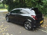 Vauxhall Corsa black edition excellent condition fianace and warranty available may px swap