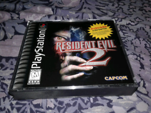 For sale resident evil 2 ps1 game.