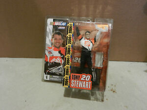 Tony Stewart #20 Mcfarlane Variant No Hat or Glasses Rare Chase