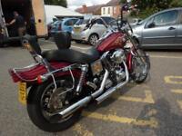 Harley-Davidson Dyna FXDWG 03/53reg VGC Lots of Extras