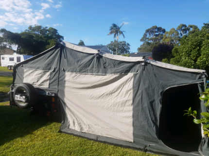 2016 Black series camper trailer Mallabula Port Stephens Area Preview