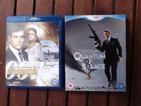 2 Blu-Ray James Bond Discs