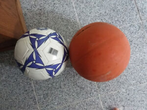 Basketball and volleyball