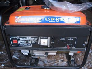For Sale Like New 6.5 HP Generator