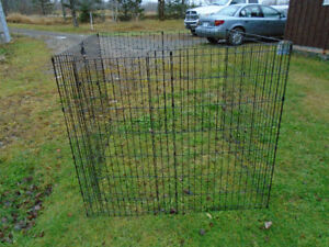 Exercise pen to trade for rabbit cage with door on top