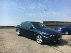 2008 08 Jaguar X-TYPE 2.0D SE Sat Nav (facelift model, 11 service stamps)