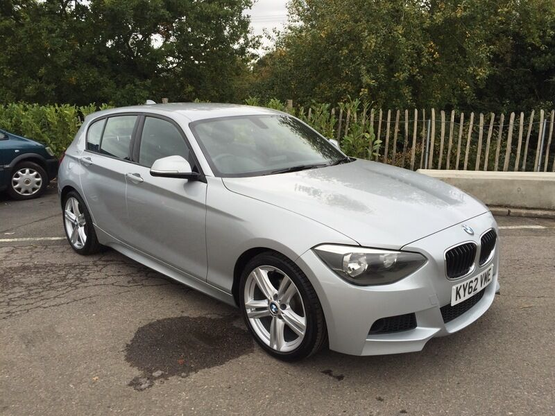 bmw 116i m sport 116i m sport 5dr manual drivers comfort pack full history silver 2012. Black Bedroom Furniture Sets. Home Design Ideas