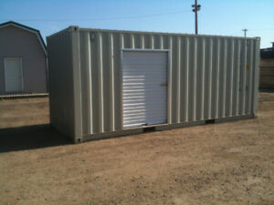 Yard Space with Container for Rent near Edmonton Airport