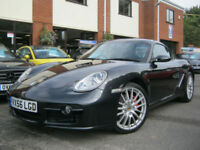 2006 56-Reg Porsche Cayman S 3.4,GEN 47,000 MILES,STUNNING SPEC MUST SEE!!!!!