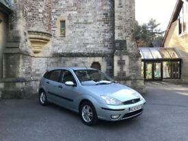 2003/53 Ford Focus 1.6i 16v Zetec 5 Door Hatchback