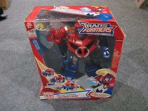 Transformers animated Optimus Prime new in box  $60 St. John's Newfoundland image 1