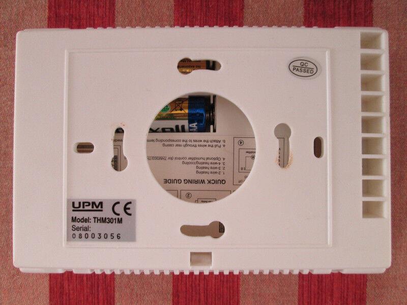 upm programmable thermostat thm301m manual
