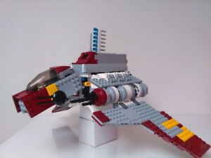 LEGO Star Wars 8019 Republic Attack Shuttle AS IS