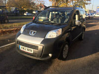2012 Peugeot Bipper 1.3T DIESEL ( s/s )Tepee AUTO ONLY 11,000 MILES £20 ROAD TAX