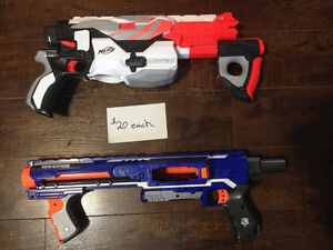Nerf Guns - Large Variety from $5-$30 Strathcona County Edmonton Area image 1