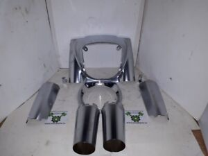 18 Later Fatboy Front Nacelle Assembly - OE Satin Chrome ID 2038