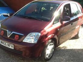 2006 06 Vauxhall Meriva 1.6i ( a/c ) Enjoy 55,000 miles