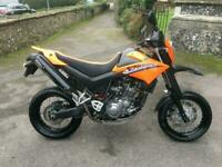 2007 (07) Yamaha XT660X SuperMoto - Vivid Orange - 21000 miles